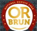 Depuis 50 ans Or Brun partage avec vous les fruits d'un jardin 100% naturel