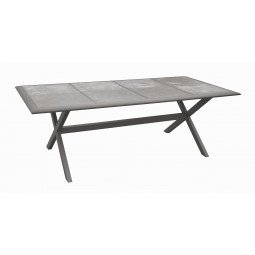Ceramo table 220 - taupe/taupe