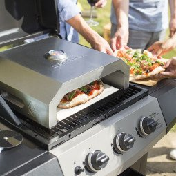Four a pizza firebox pour bbq