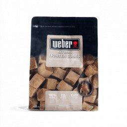 Cubes allumes feux brun 48 u