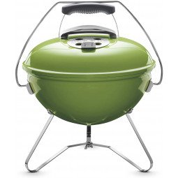 Smokey joe premium charcoal grill vert