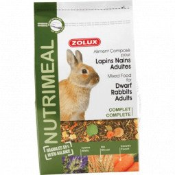 Aliment lapin adulte nutrimeal