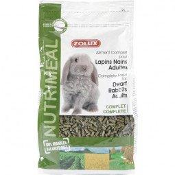 Granulés lapin nain adulte nutrimeal