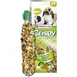 Sticks lapins cobayes legumes