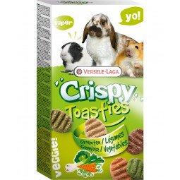 Crispy toasties légumes 150g