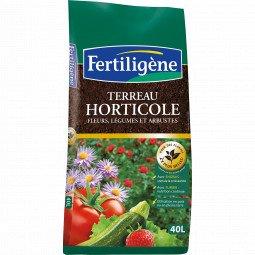 Terreau horticole Fertiligène 40L
