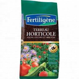 Terreau horticole Fertiligène 70L