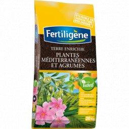 Terreau plantes méditerranéennes agrumes 20kg