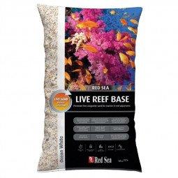 Live reef base blanc - aragonite ensemencé en bactéries (10kg)