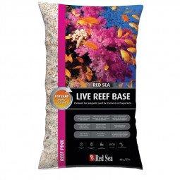 Live reef base rose - aragonite ensemensé en bactéries (10kg)