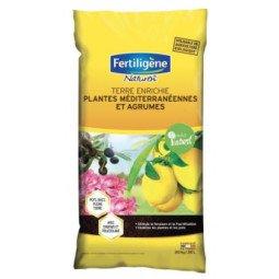 Terre enrichie plantes méditerranéennes et agrumes FERTILIGENE 20kg