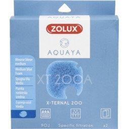 Mousse bleue xternal 200 x2 aquaya