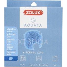 Mousse bleue xternal 300 x2 aquaya