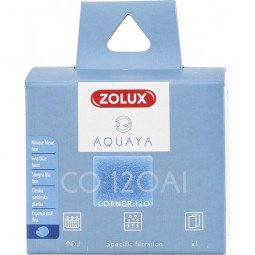 Mousse bleue fine corner 120 aquaya