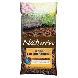 Copeaux colorés bruns FERTILIGENE 40L