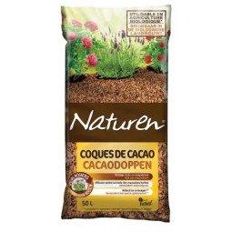 Paillage coques de cacao FERTILIGENE 50L