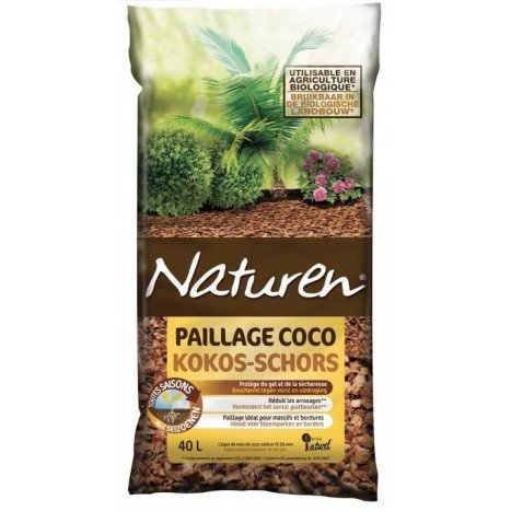 Paillage coco FERTILIGENE 40L