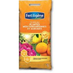 Terreau agrumes, plantes méditerranéennes FERTILIGENE 6L