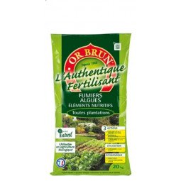 Authentique fertilisant OR BRUN 20kg