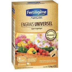 Engrais universel super organique mini-granulés FERTILIGENE 1.5KG
