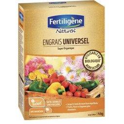 Engrais universel super organique mini-granulés FERTILIGENE 4KG