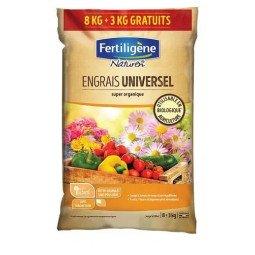 Engrais universel super organique mini-granulés FERTILIGENE 11KG
