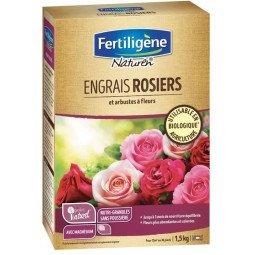 Engrais rosiers et arbustes à fleurs mini-granulés FERTILIGENE 1.5KG