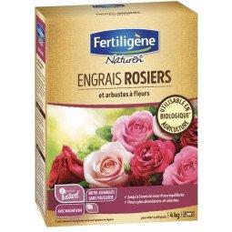 Engrais rosiers et arbustes à fleurs mini-granulés FERTILIGENE 4KG