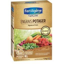 Engrais potager, légumes et fruits mini-granulés FERTILIGENE 1.5KG
