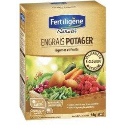 Engrais potager, légumes et fruits mini-granulés FERTILIGENE 4KG