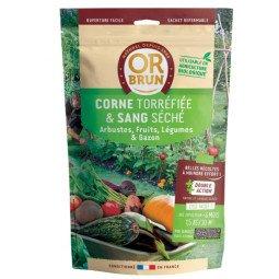 Corne torréfiée & sang séché OR BRUN 1,5 kg