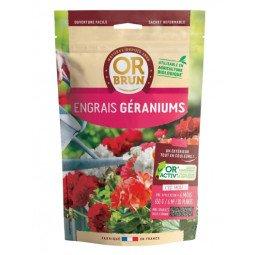 Engrais geranium granulés OR BRUN 650g