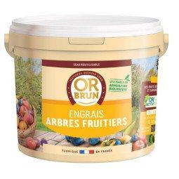 Engrais arbres fruitiers granulés OR BRUN 4kg