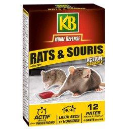 Rats et souris pâtes KB 120G