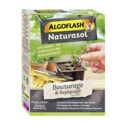 Bouturage & repiquage ALGOFLASH 5 sachets