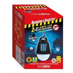 Lampe LED nomade anti-moustiques 2 en 1 BARRIÈRE A INSECTES
