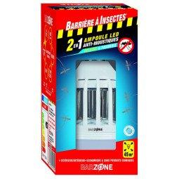 Ampoule LED Anti-Moustiques 2en1 BARRIÈRE A INSECTES