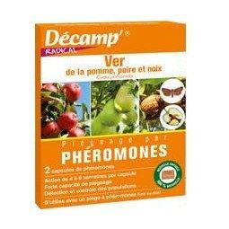 Phéromones contre le ver de la pomme, poire et noix DECAMP'