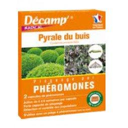 Phéromones contre la pyrale du buis DECAMP'