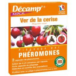 Phéromones contre le ver de la cerise DECAMP'