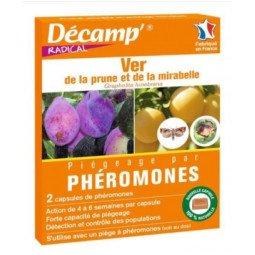 Phéromones contre le ver de la prune DECAMP'