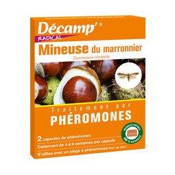 Phéromones contre la mineuse du marronnier DECAMP'