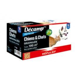 Répulsif chiens/chats granulés DECAMP'