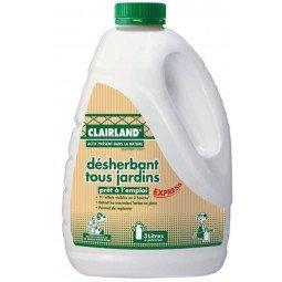 Désherbant Tous Jardins -pret à l'emploi bidon CLAIRLAND 3L