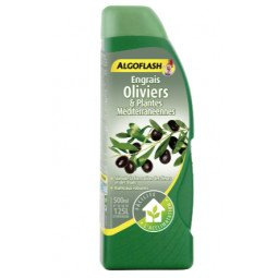 Engrais Oliviers & Plantes Méditerranéennes liquide ALGOFLASH 500ml