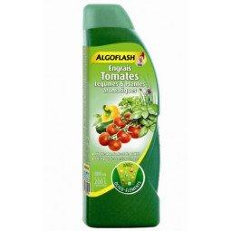 Engrais Tomates, Légumes & Plantes Aromatique liquide ALGOFLASH 800ml