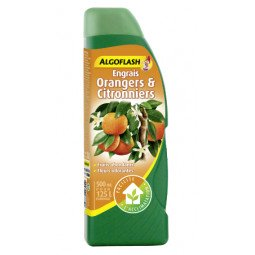 Engrais Orangers & Citronniers liquide ALGOFLASH 500ml