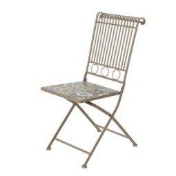 Chaise de bistrot fer TOULOUSE
