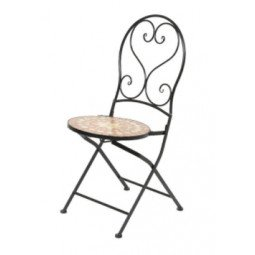 Chaise de bistrot fer ANDORRA
