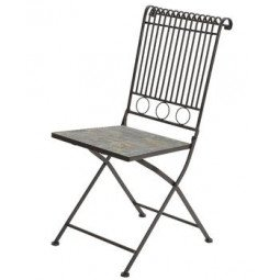 Chaise de bistrot fer STUTTGART